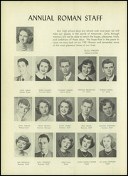 Page 8, 1951 Edition, Rome High School - Roman Yearbook (Rome, GA) online yearbook collection