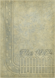 Page 1, 1952 Edition, Rome High School - Roman Yearbook (Rome, GA) online yearbook collection