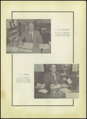 Page 11, 1952 Edition, Rome High School - Roman Yearbook (Rome, GA) online yearbook collection