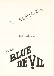 Page 7, 1946 Edition, Bremen High School - Blue Devil Yearbook (Bremen, GA) online yearbook collection