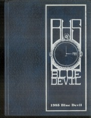 1985 Edition, Bremen High School - Blue Devil Yearbook (Bremen, GA)