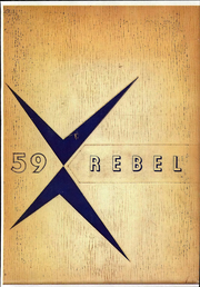Page 1, 1959 Edition, Turner County High School - Rebel Yearbook (Ashburn, GA) online yearbook collection
