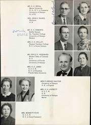 Page 11, 1959 Edition, Turner County High School - Rebel Yearbook (Ashburn, GA) online yearbook collection