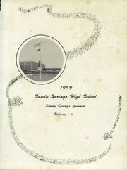 Page 5, 1959 Edition, Sandy Springs High School - Yearbook (Sandy Springs, GA) online yearbook collection