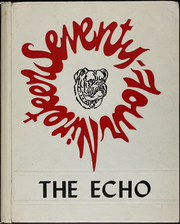 1974 Edition, Wheeler County High School - Echo Yearbook (Alamo, GA)