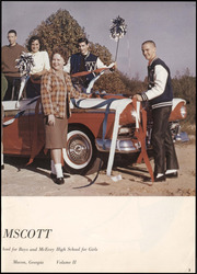 Page 7, 1960 Edition, McEvoy High School - Ramscott Yearbook (Macon, GA) online yearbook collection