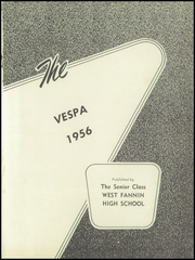 Page 5, 1956 Edition, West Fannin High School - Vespa Yearbook (Blue Ridge, GA) online yearbook collection