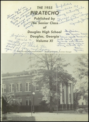 Page 5, 1955 Edition, Douglas High School - Piratecho Yearbook (Douglas, GA) online yearbook collection