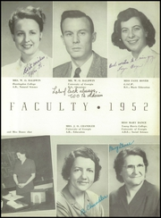 Page 15, 1952 Edition, Monticello High School - Hurricane Yearbook (Monticello, GA) online yearbook collection