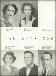 Page 16, 1952 Edition, Monticello High School - Hurricane Yearbook (Monticello, GA) online yearbook collection