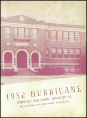 Page 7, 1952 Edition, Monticello High School - Hurricane Yearbook (Monticello, GA) online yearbook collection