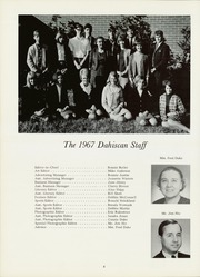 Page 12, 1967 Edition, Dallas High School - Dahiscan Yearbook (Dallas, GA) online yearbook collection