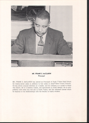 Page 9, 1960 Edition, South Fulton High School - Lion Yearbook (East Point, GA) online yearbook collection