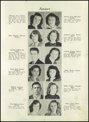 Page 15, 1948 Edition, Summerville High School - Sequoyah Yearbook (Summerville, GA) online yearbook collection