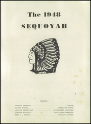 Page 5, 1948 Edition, Summerville High School - Sequoyah Yearbook (Summerville, GA) online yearbook collection