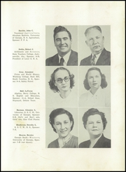 Page 15, 1949 Edition, Summerville High School - Sequoyah Yearbook (Summerville, GA) online yearbook collection