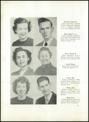 Page 16, 1949 Edition, Summerville High School - Sequoyah Yearbook (Summerville, GA) online yearbook collection