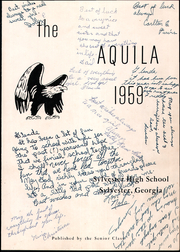 Page 5, 1959 Edition, Sylvester High School - Aquila Yearbook (Sylvester, GA) online yearbook collection