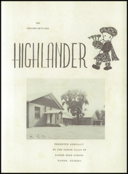 Page 7, 1955 Edition, Darien High School - Highlander Yearbook (Darien, GA) online yearbook collection