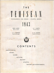Page 5, 1943 Edition, Tech High School - Tehisean Yearbook (Atlanta, GA) online yearbook collection