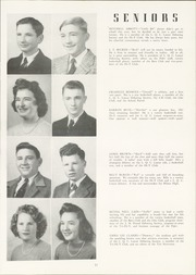 Page 17, 1945 Edition, Milner High School - Top Notcher Yearbook (Milner, GA) online yearbook collection