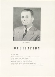Page 9, 1945 Edition, Milner High School - Top Notcher Yearbook (Milner, GA) online yearbook collection