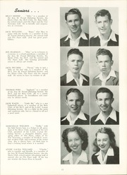 Page 17, 1946 Edition, Milner High School - Top Notcher Yearbook (Milner, GA) online yearbook collection