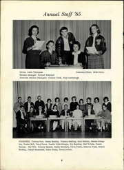 Page 12, 1965 Edition, Yatesville High School - Yellow Jacket Yearbook (Yatesville, GA) online yearbook collection
