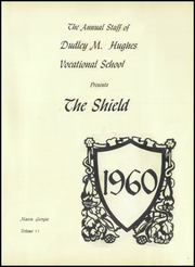 Page 5, 1960 Edition, Dudley M Hughes Vocational School - Shield Yearbook (Macon, GA) online yearbook collection