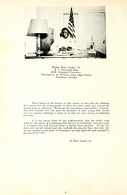 Page 12, 1955 Edition, James High School - Jamesonian Yearbook (Statesboro, GA) online yearbook collection