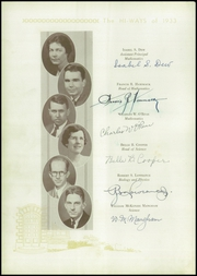Page 16, 1933 Edition, North Fulton High School - HiWays Yearbook (Atlanta, GA) online yearbook collection