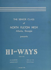 Page 7, 1950 Edition, North Fulton High School - HiWays Yearbook (Atlanta, GA) online yearbook collection