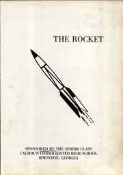 Page 5, 1966 Edition, Calhoun Consolidated High School - Rocket Yearbook (Irwinton, GA) online yearbook collection
