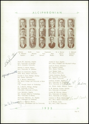 Page 14, 1933 Edition, Decatur Boys High School - Caveat Emptor Yearbook (Decatur, GA) online yearbook collection