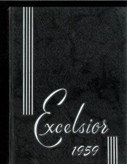 1959 Edition, St Joseph High School Nazareth Academy - Excelsior Yearbook (Victoria, TX)