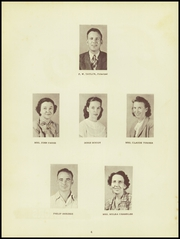 Page 8, 1949 Edition, Richland High School - Jackette Yearbook (Richland, GA) online yearbook collection