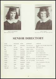 Page 14, 1953 Edition, Richland High School - Jackette Yearbook (Richland, GA) online yearbook collection