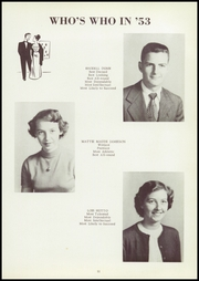 Page 15, 1953 Edition, Richland High School - Jackette Yearbook (Richland, GA) online yearbook collection