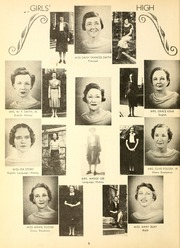 Page 10, 1939 Edition, Girls High School - Stylus Yearbook (Decatur, GA) online yearbook collection