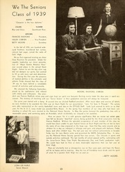 Page 17, 1939 Edition, Girls High School - Stylus Yearbook (Decatur, GA) online yearbook collection