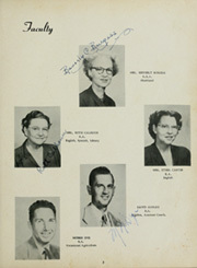 Page 7, 1951 Edition, Goliad High School - Mission Yearbook (Goliad, TX) online yearbook collection