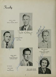 Page 8, 1951 Edition, Goliad High School - Mission Yearbook (Goliad, TX) online yearbook collection