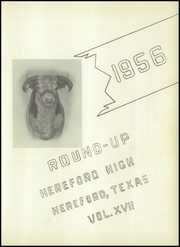 Page 5, 1956 Edition, Hereford High School - Round Up Yearbook (Hereford, TX) online yearbook collection