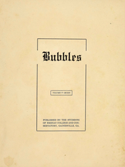 Page 4, 1910 Edition, Brenau University - Bubbles Yearbook (Gainesville, GA) online yearbook collection