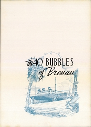 Page 3, 1940 Edition, Brenau University - Bubbles Yearbook (Gainesville, GA) online yearbook collection
