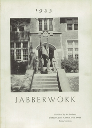 Page 5, 1945 Edition, Darlington School - Jabberwock Yearbook (Rome, GA) online yearbook collection