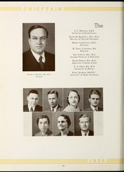 Page 16, 1936 Edition, University of West Georgia - Chieftain Yearbook (Carrollton, GA) online yearbook collection