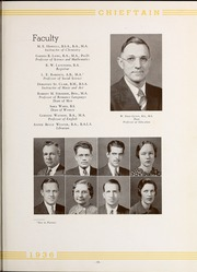 Page 17, 1936 Edition, University of West Georgia - Chieftain Yearbook (Carrollton, GA) online yearbook collection