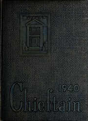 Page 1, 1940 Edition, University of West Georgia - Chieftain Yearbook (Carrollton, GA) online yearbook collection