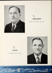 Page 16, 1940 Edition, University of West Georgia - Chieftain Yearbook (Carrollton, GA) online yearbook collection
